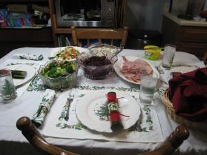Dinner's ready!