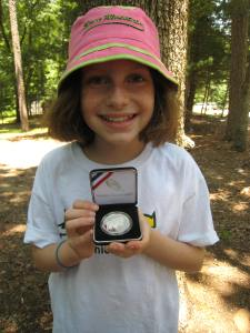 Girl Scout coin