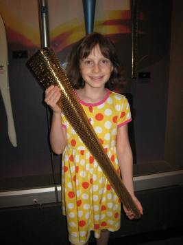 Walk softly and carry a big torch. It was heavy, too.