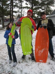 Katy, Jonathon and Joshua