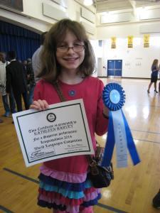 Blue-ribbon winner!