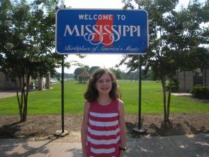 Then to Mississippi (M, I, crooked letter letter, I, crooked letter, crooked letter I, humpback, humpback, I)