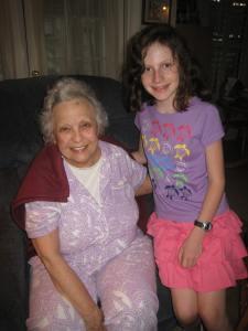 Katy and Great-Grandma