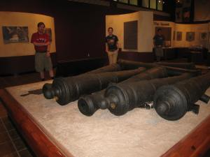 Fort St. Louis cannons