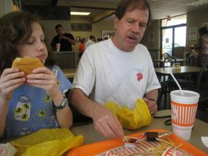 Whataburger stop along the way
