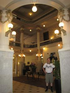 Lobby where Teddy Roosevelt recruited his Rough Riders.