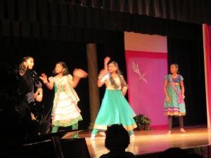 Miss Rama's Bollywood dancers