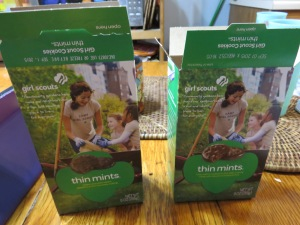 Thin Mints and ... Thin Mints