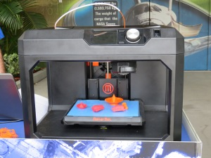 3D printer with models