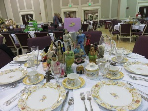 Besides dolls, they had gorgeous China.
