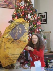 Katy loved her Harry Potter umbrella. Now I'll get mine back!
