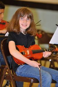 The very last Music Matters concert (and a half-sized violin)